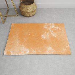 Watercolor wash - orange Rug
