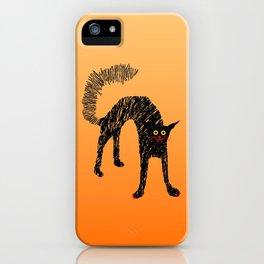 Black Cat 01 iPhone Case