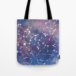 Star Constellations Tote Bag