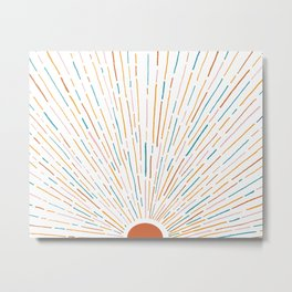 Sunshine All Around Metal Print