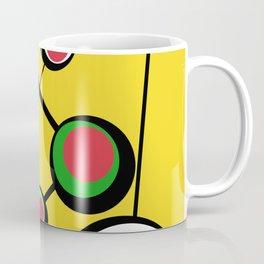 Mid Century Molecules Coffee Mug