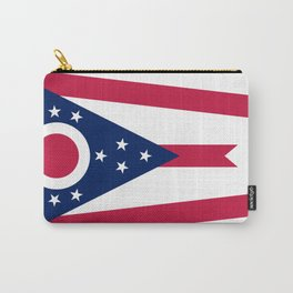 Ohio Flag Carry-All Pouch