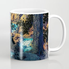 Doctrine of Divine Light by Maxfield Parrish Coffee Mug