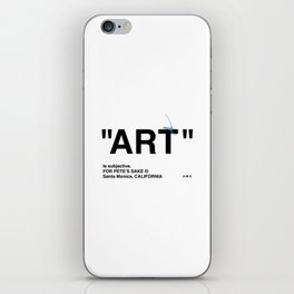 """ART"" iPhone Skin"