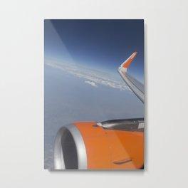 Flying On The Edge Of Heaven Metal Print