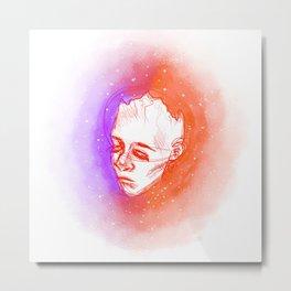 dead head Metal Print