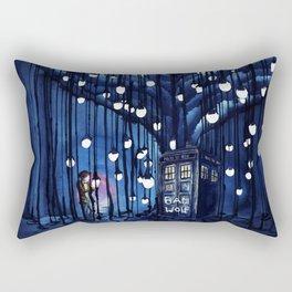 Tardis Art Of The Journey Rectangular Pillow