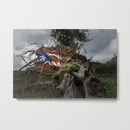 Puerto Rico Pride Metal Print