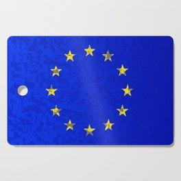 EU Flag Cutting Board