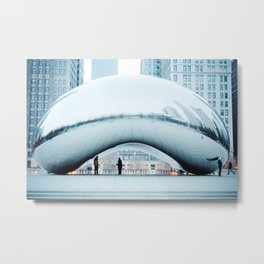 Lonely Chicago Icon Metal Print