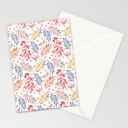 Cute summer floral pattern Stationery Cards