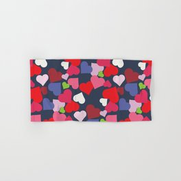 queen of hearts I Hand & Bath Towel