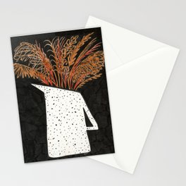 Autumn Still Life with Pampas Grass Stationery Cards