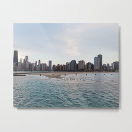 Chicago Lakefront Evenings Metal Print