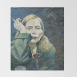 Joni - Both Sides Now - Mitchell Throw Blanket