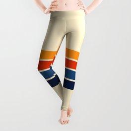 Classic Retro Stripes Leggings