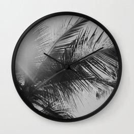 Punta Cana Palm Tree, Dominican Republic Wall Clock