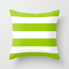 Mariniere marinière dark green Throw Pillow