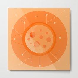Planet B - Trappist System Metal Print