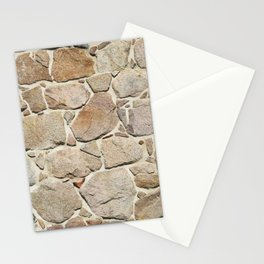 old quarry stone wall Stationery Cards