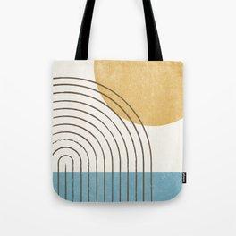Sunny ocean Tote Bag