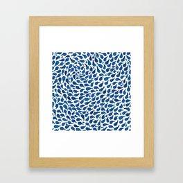 Blue Whales Gerahmter Kunstdruck
