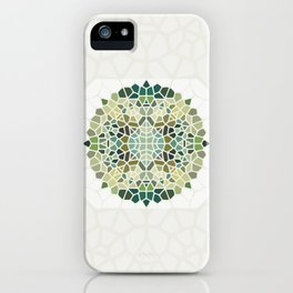 Herbal Tea - Voronoi iPhone Case