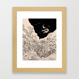 Bad Moon Framed Art Print