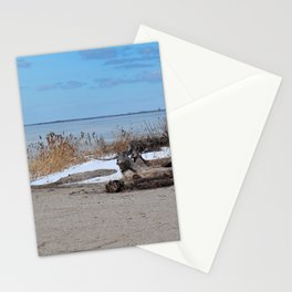 Maumee Bay in Winter III Stationery Cards