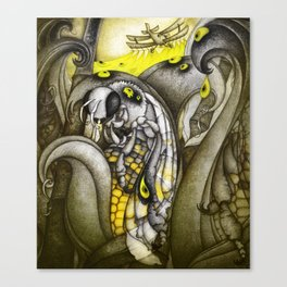 To bee or not to be Canvas Print