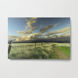 Path Into the Sunset Metal Print