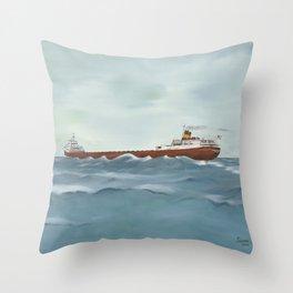 Edmond Fitzgerald Throw Pillow