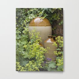 Earthenware jugs Metal Print