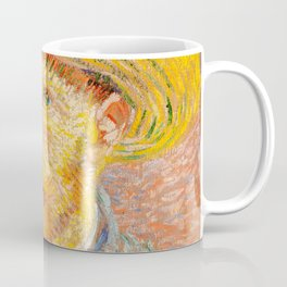 Vincent Van Gogh - Self Portrait with a Straw Hat Coffee Mug