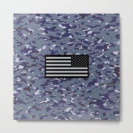 Camouflage: Naval Metal Print