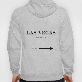 Las Vegas Nevada City Miles Arrow Hoody