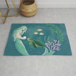 Mermaid's Gift Rug