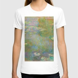 Claude Monet - Water Lily Pond T-shirt