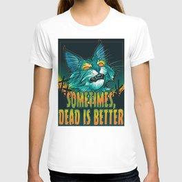 scott robertson orange sometimes dead is better t-shirt tank top   sticker  print art T-shirt