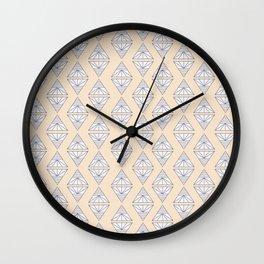 Triangles Change Wall Clock