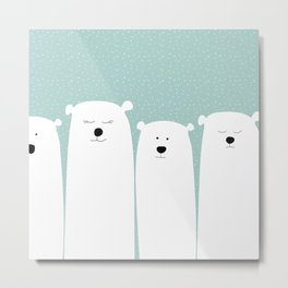 Polar people Metal Print