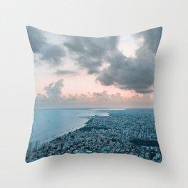 A Ladder to the Sky - Limassol Throw Pillow