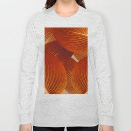Leaves in Terracotta Color #decor #society6 #buyart Long Sleeve T-shirt