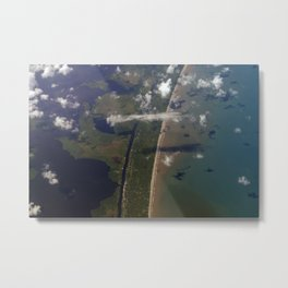 Earth: So Beautiful Metal Print