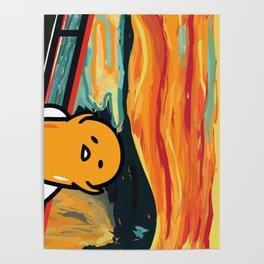Gudetama's Scream Poster