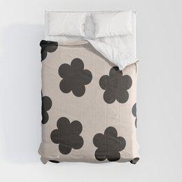 Floral Block Print Comforters