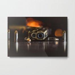 Take the Shot Metal Print