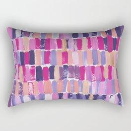 Colorful stripes || Pattern Rectangular Pillow