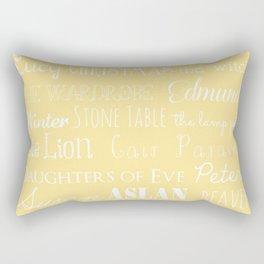 Narnia Celebration- shortbread Rectangular Pillow