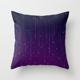 Pixelrain Video Games Inspired Pattern Throw Pillow
